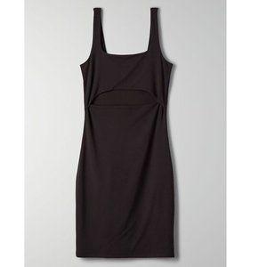 NWT Aritzia Wilfred Perla Cutout Bodycon Dress S